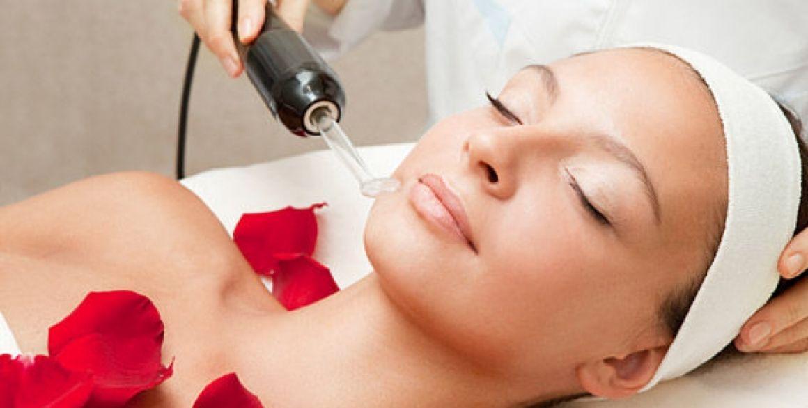 Дарсонвализация кожи лица